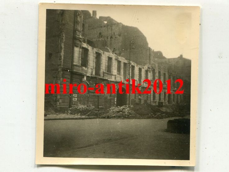 Foto, Wehrmacht, Strassenszene in Warschau, Warszawa, Polen, d | eBay