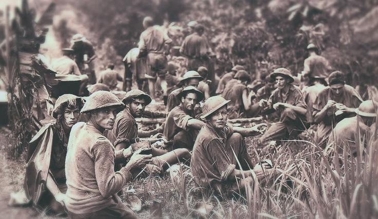 Aussie Diggers in WW2