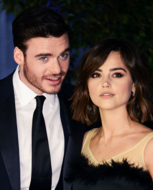 Basically all I want from life is for Richard Madden to be in all the movies so he and Jenna can be beautiful in public together all the time for all the movie premieres.// yes.