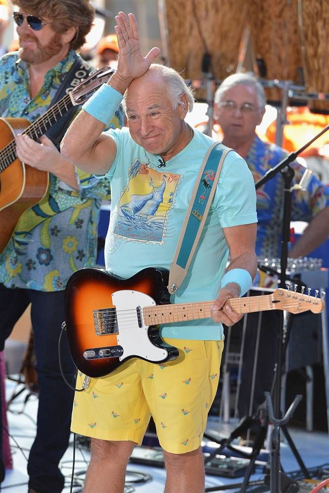 Jimmy Buffett-FINS!!!!!!! Fins to the left, fins to the right. You're the only babe in town. :)