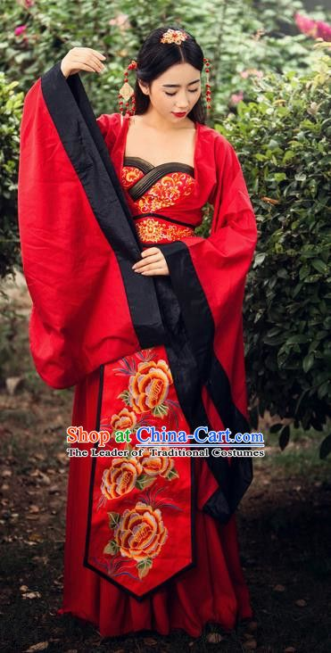 9b38637f1 Ancient Chinese Costume Chinese Style Wedding Dress Tang Dynasty Clothing