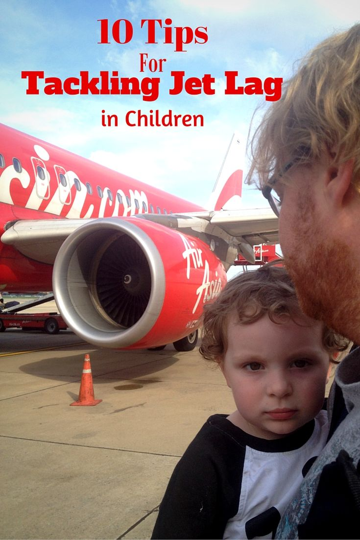 Long Haul flight with your family? Here are 10 tips for tackling jet lag in children!