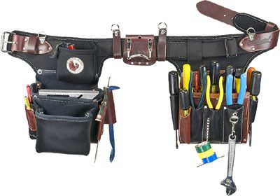 Occidental Leather 9596 Adjust To Fit Pro Electricians Tool Belt System