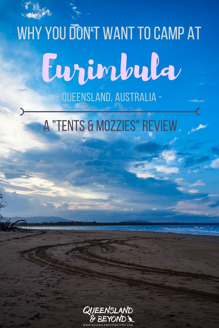 """Eurimbula National Park just around the corner from Agnes Water in sunny Queensland. It looks like an outdoor-lover's paradise but camping there wasn't quite as much fun as we had expected. Here's my """"tents & mozzies"""" review. 🌐 Queensland & Beyond #tentsmozzies #eurimbula #nationalpark #Australia #queensland #camping"""