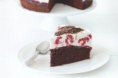 Svěží dort bez mouky s malinami a tvarohem | Apetitonline.cz