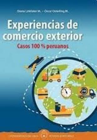 Experiencias de comercio exterior: casos 100% peruanos (PRINT) http://biblioteca.eclac.org/record=b1252864~S0*spi Introducción conceptual de temas de gran importancia en los negocios, así como la aplicación adecuada y el alcance de los términos internacionales de comercio (Incoterms), la facilitación y financiamiento de las exportaciones e importaciones, los regímenes aduaneros, el marketing y las negociaciones internacionales, entre otros contenidos.