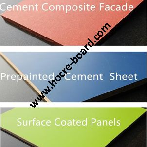 Exterior UV coated fiber cement board price