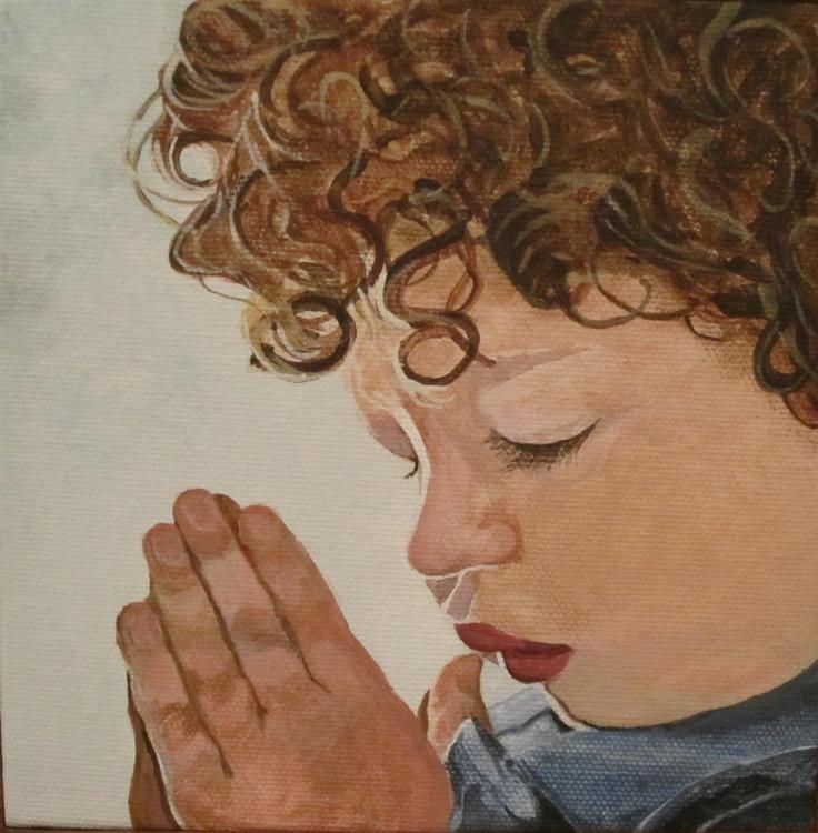 (boy) praying hands series