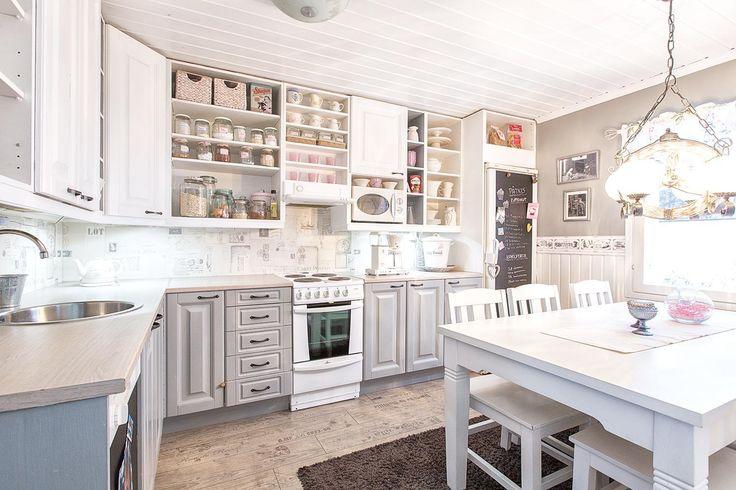 Sisustus  Keittiö  Maalaisromanttinen  Koti ja sisustus  Pinterest