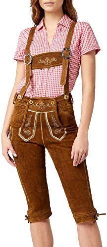 Buy Gaudi-leathers Women's Trachten Lederhosen…