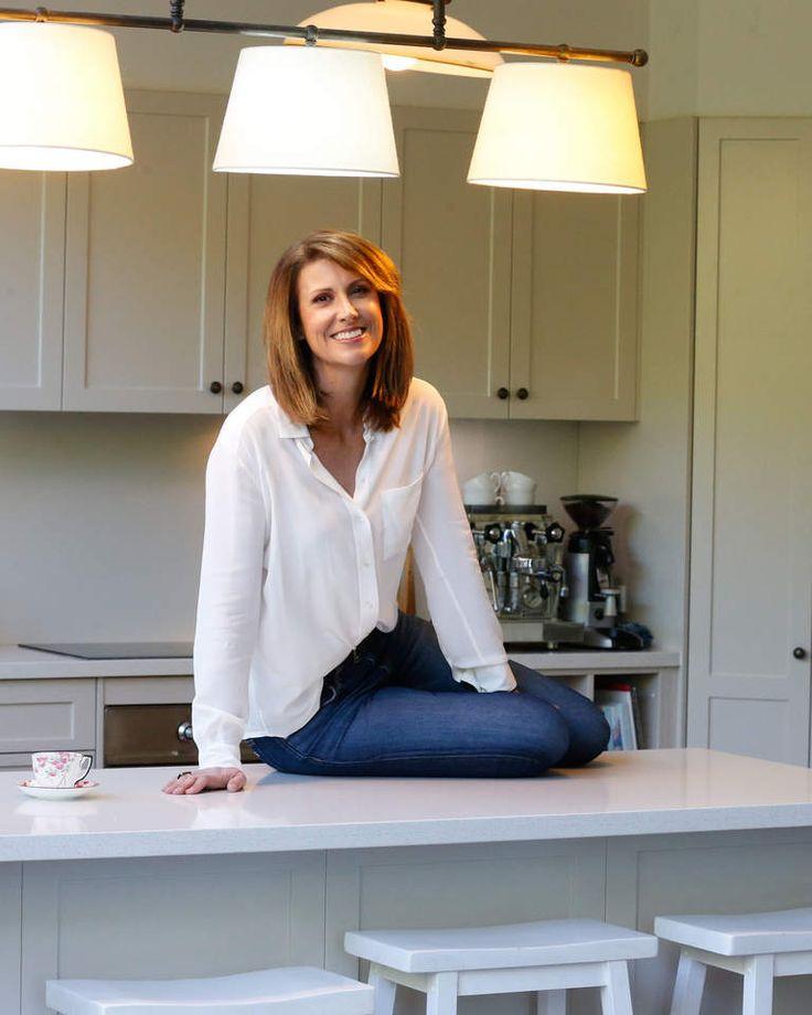 Natalie Barr in her Sydney kitchen.