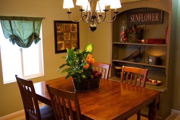 Dining room ideas for mobile homes spam suckin 39 trailer - Home improvement ideas living room ...