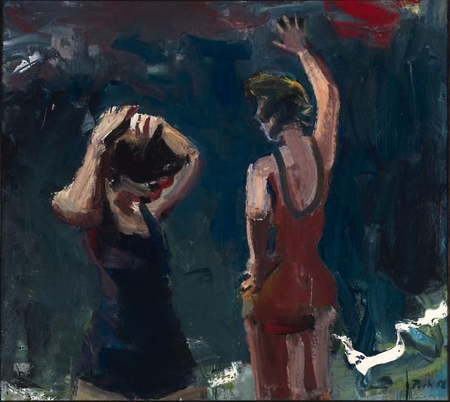 "David Park's ""Two Bathers,"" 1958"