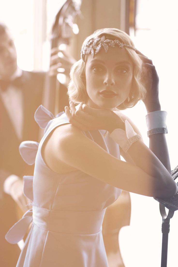 style | Diamanté Cuffs from BHLDN