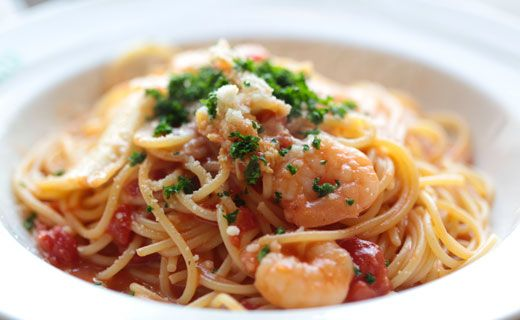 Epicure's Shrimp and Feta Pasta Toss  (Copyright © Epicure Selections)