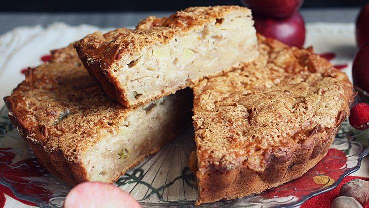 Torta di mele vegana e gluten free