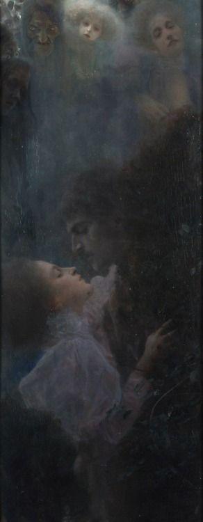 """Allegory of Love"" by Gustav Klimt"