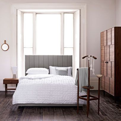 Modern Retro Bedrooms - Interiors - Redonline   Red Online