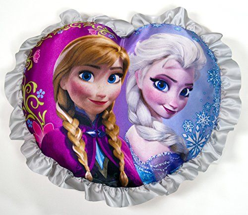Disney Frozen Heart Pillow Elsa And Anna, 2015 Amazon Top Rated Pillows #Home
