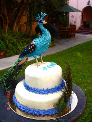 Best Mariahs Peacock Birthday Images On Pinterest Peacock - Peacock birthday cake