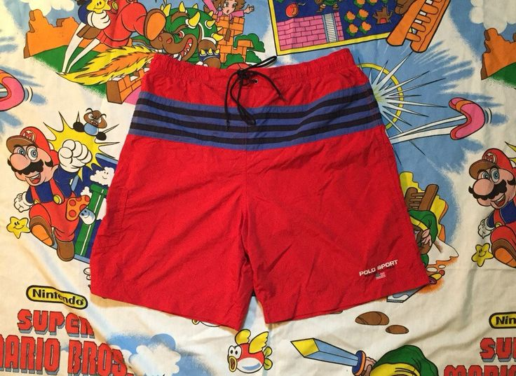 Vintage Polo Ralph Luaren Sport swim suit trunks sz by WamsCloset