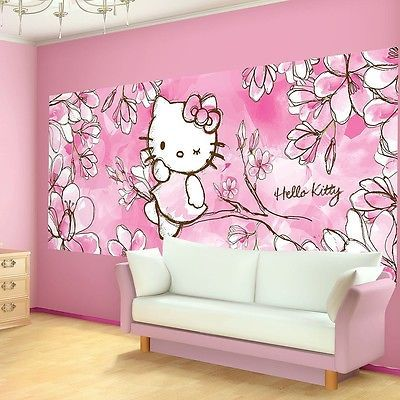 m s de 25 ideas nicas sobre papel pintado de hello kitty en pinterest arte de hello kitty. Black Bedroom Furniture Sets. Home Design Ideas