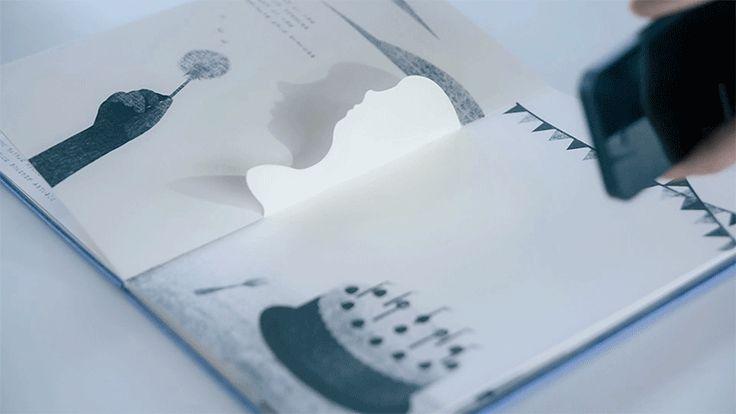 Motion Silhouette shadow book...questo lo devo trovare !