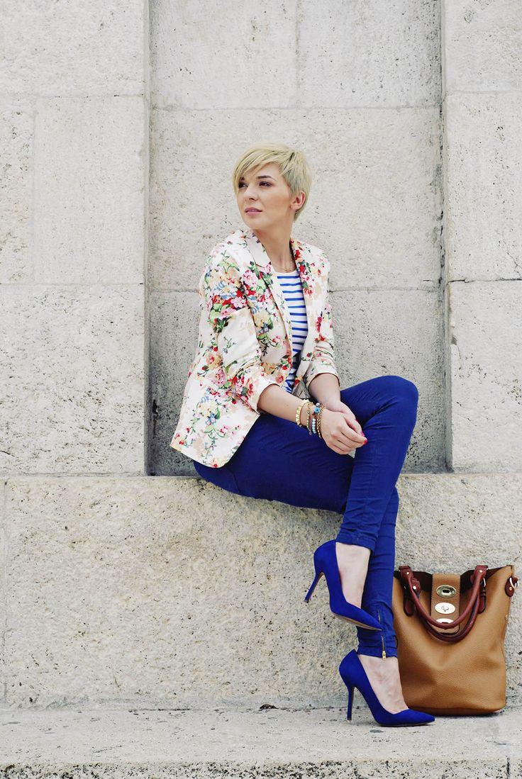 awesome Эффектные и модные синие туфли (50 фото) — С чем носить в 2017? Читай больше http://avrorra.com/sinie-tufli-foto/