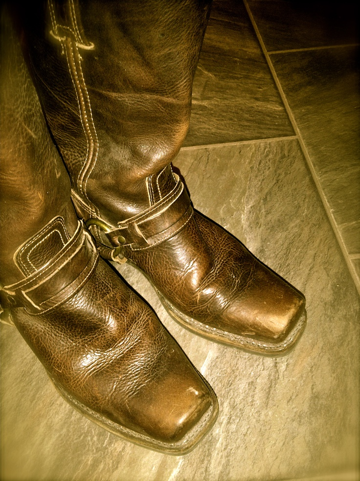 my old Frye boots - love! -