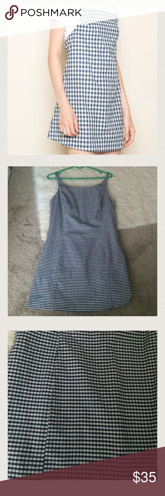 Vintage gingham dress Was altered to fit smaller. I am a size 26 and this fits!! Urban Outfitters Dresses Mini