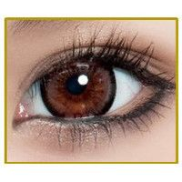 GEO BAMBI PRINCESS MIMI ALMOND BROWN Circle Lens Fashion Colored Contacts Enlarging Korean Contact Lenses | EyeCandy's