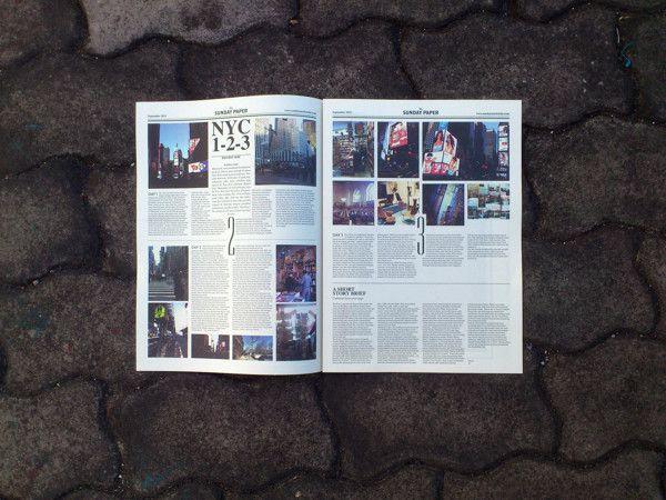 The Sunday Paper by butawarna , via Behance