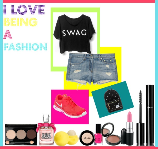 """let's rock our school"" by tatharosita on Polyvore"