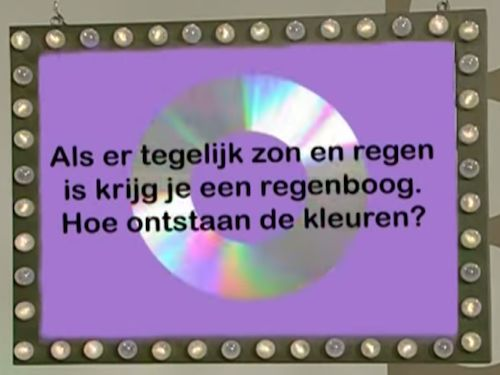 Bekijk het filmpje: Hoe ontstaan de kleuren van een regenboog. Kinderfilmpjes, afleveringen en kinderliedjes op Minipret.nl