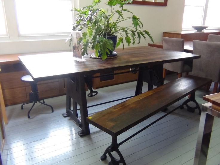 1000 ideas about narrow dining tables on pinterest for Kitchen table for narrow space