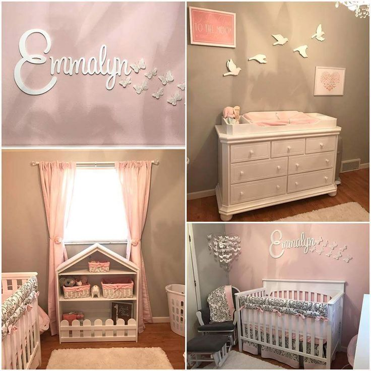 Amazing Peach Colored Room With Bed And Accessories For Your Princess