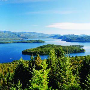 Priest Lake, Idaho .