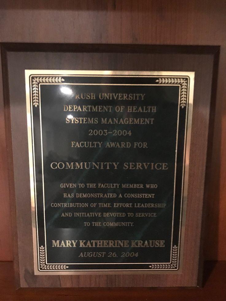 Pin by Mary Katherine Krause on Awards/Diplomas Health