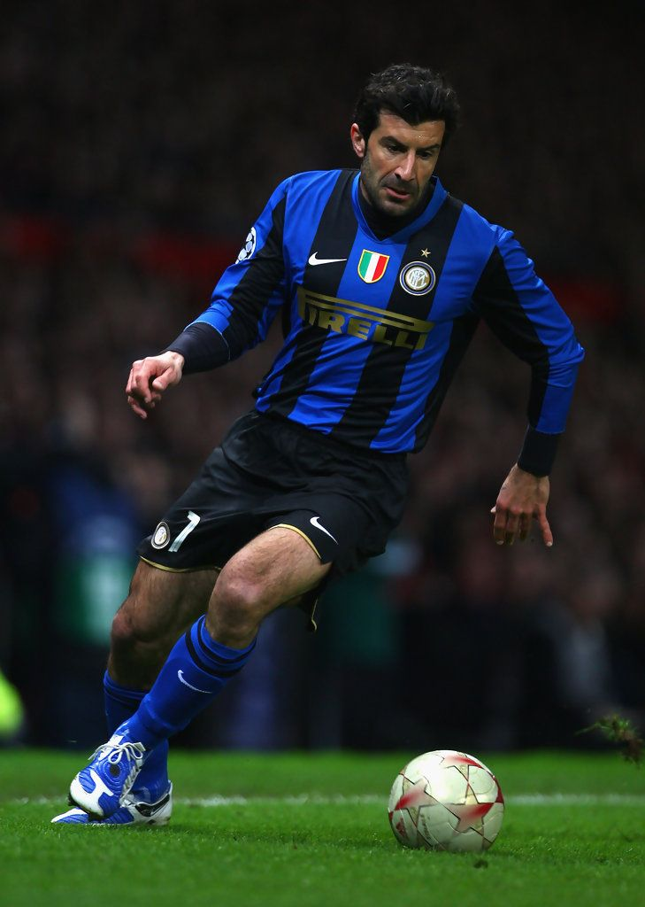 Luis Figo ~ A Great Player ~ Strong and Skillful
