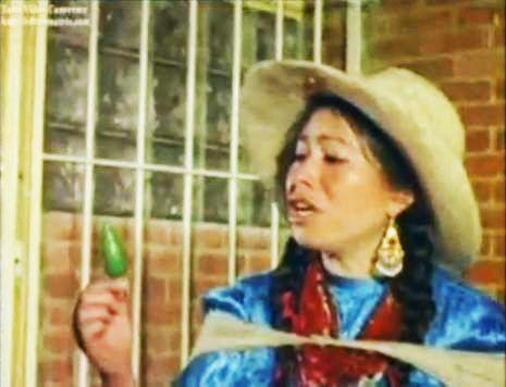 La India Maria, she's legendary to Hispanics. Gotta love that girl!