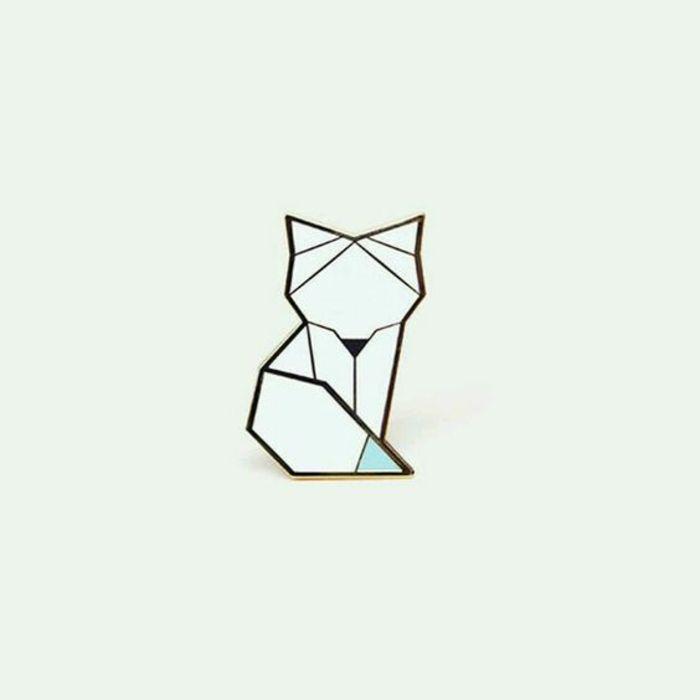 1001 Idees De Dessin Tatouage Magnifique Et Comment Choisir Le Meilleur Pour Vous Dessin Origami Origami Geometrique Dessin