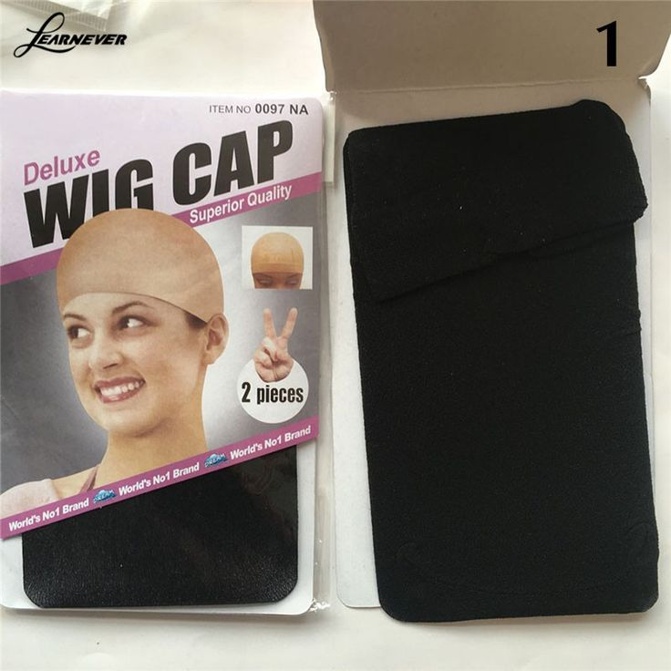 1 Pc Unisex Nylon Bald Wig Rambut Cap Stocking Snood Mesh Peregangan Hitam/Nude/Kopi M02891