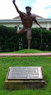 "SPORTS SCULPTURE: ""Payne Stewart"" sculpture by Zenos Frudakis. Pinehurst Resort, North Carolina. Sport: Golf"