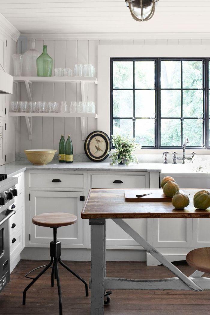 M s de 25 ideas incre bles sobre estantes de la cocina en for Guardas decorativas para cocina