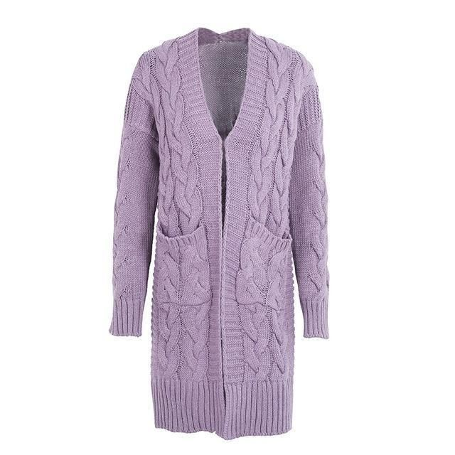 Coat Knitted Cardigan