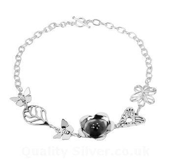 Tianguis Jackson Silver Floral Necklace