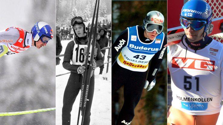 """Cztery skocznie, cztery legendy. Oto najwięksi rekordziści narciarskiego """"Wielkiego Szlema"""". http://sport.tvn24.pl/sporty-zimowe,130/tcs-sport-tvn24-pl-przedstawia-najwiekszych-rekordzistow,501764.html"""