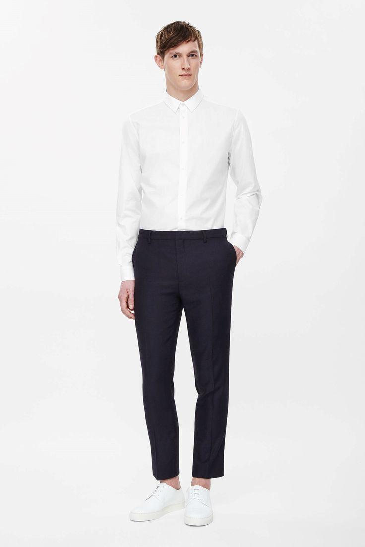 Lightweight wool trousers
