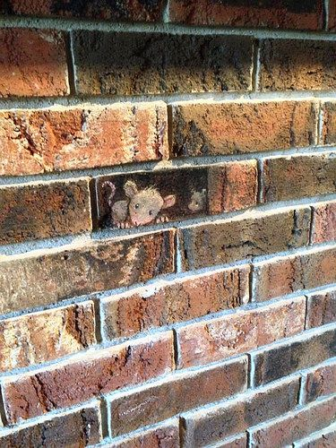 David Zinn - more streetart? Check www.Streetart.nl