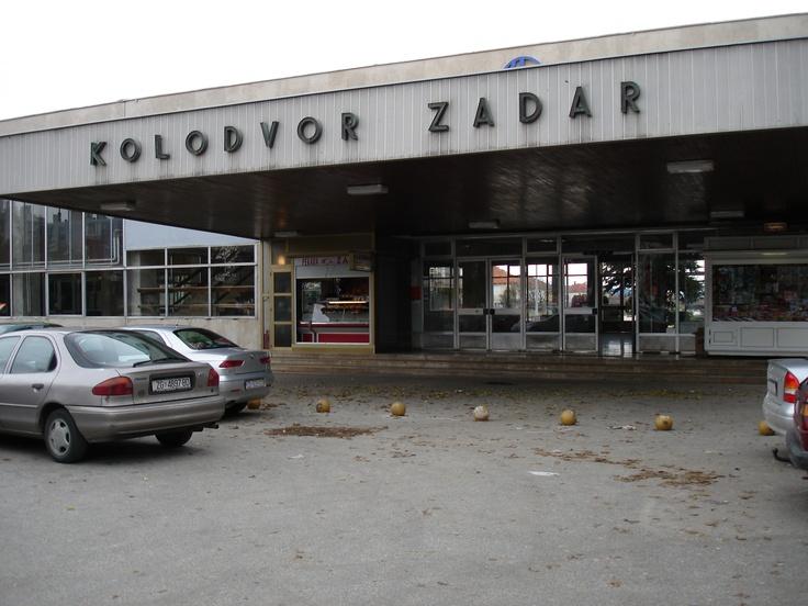 Zadar. Croatia. Bus Station. 2005.